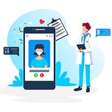 Télécosultation médicale sur smartphone