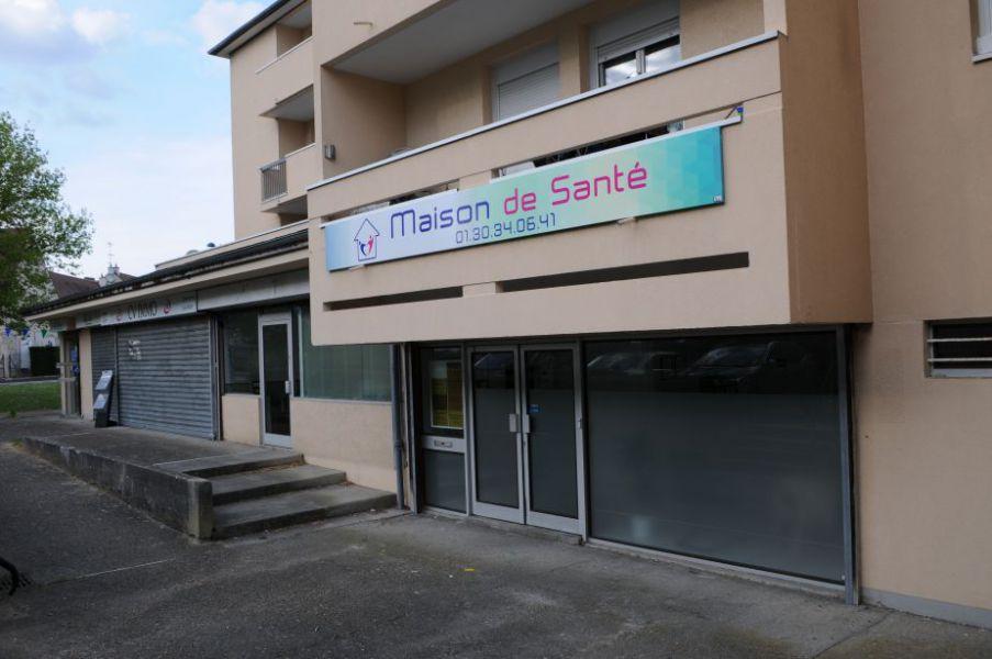 Devanture de la maison de santé Bernes sur Oise