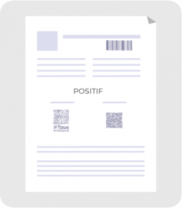 Test-RT-PCR-ou-antigenique-positif-COVID-19 comme passe sanitaire