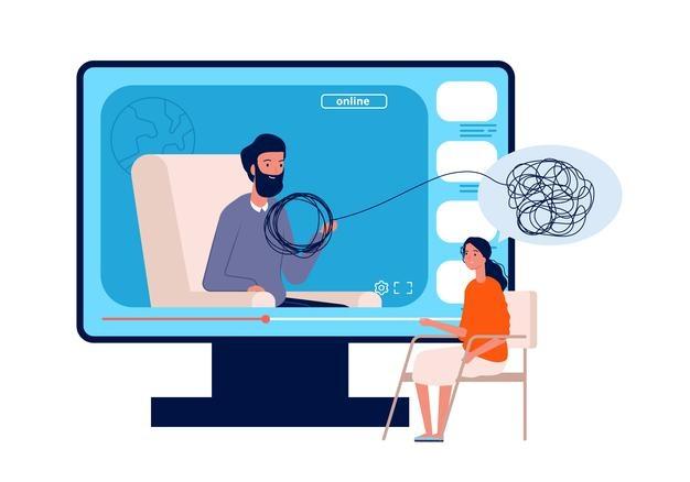 Thérapie psychologique par téléconsultation en ligne via GPS Santé